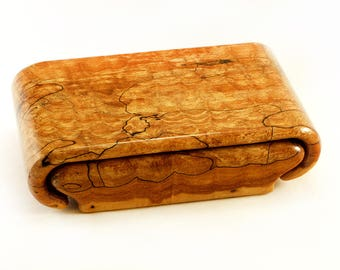 Spalted Quilted Maple Box