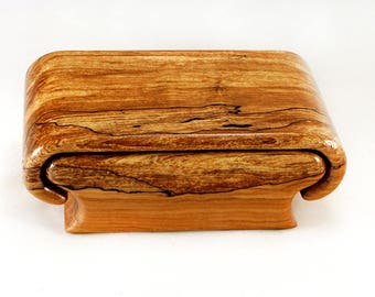 Spalted Flame Maple Box