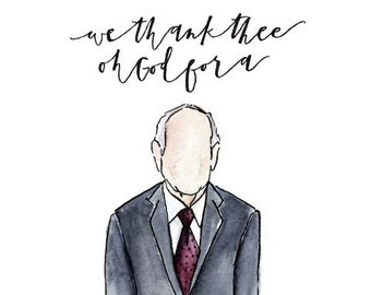We Thank Thee Oh God for a Prophet, Russell M. Nelson, LDS Prophet, Latter-Day Saints, Mormon, No Face Painting