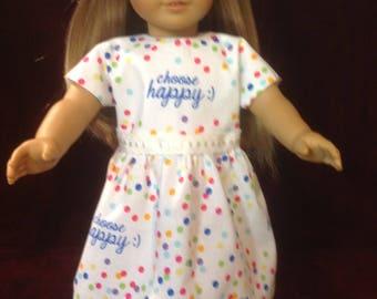Choose Happy Dress - 18 Doll