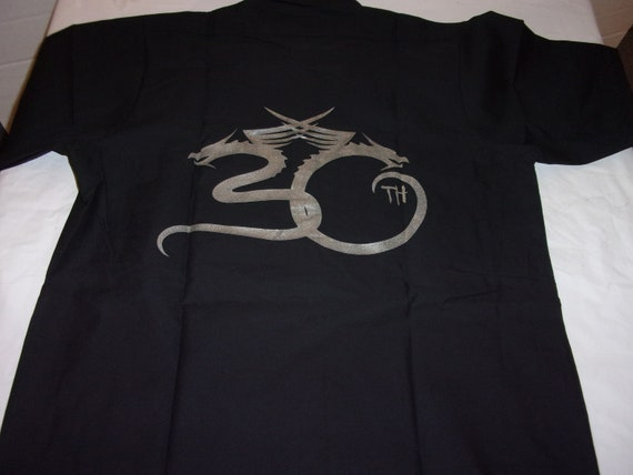 ESP Guitars Men/'s 30th Anniversary Work Shirt XX-Large Black