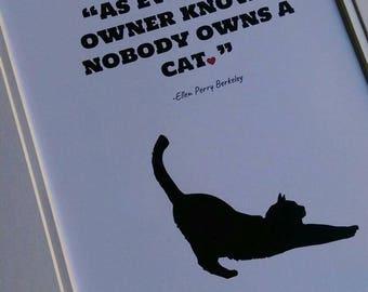 8.5X11 Print - CAT Designs
