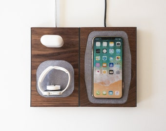 MOD - Modular Docking Station - Endlessly customizable and future proofed for Apple iPhones, AirPods, Samsung, Android Devices