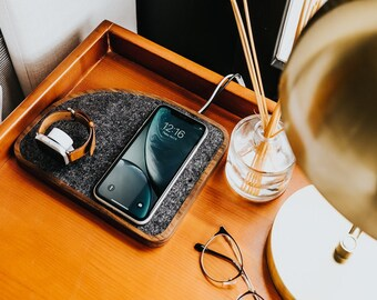 Fast Charge Wireless Charging Docking Station - MagSafe Charger iPhone Apple Watch Apple AirPods - Options for iPhone, Apple Watch, AirPods