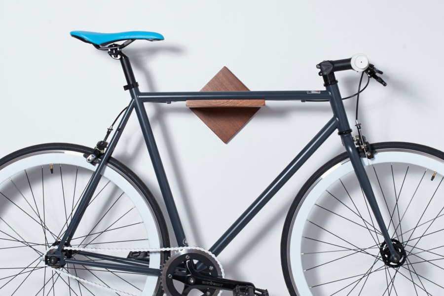 Simple Wall Mounted Bike Rack Bike Shelf Modern