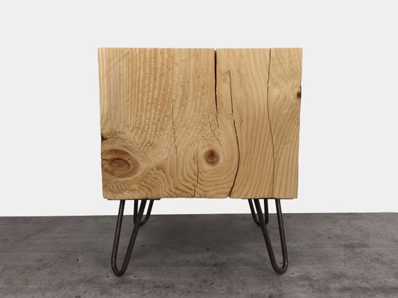 Timber Side Table Wood Block Coffee Table End Table Tree Etsy