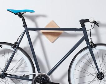 Wall Mount Bike Stand. Bike Rack Bike Shelf. Handmade Affordable Bike Furniture Bike Display Art Modern Minimalist Bike Storage.