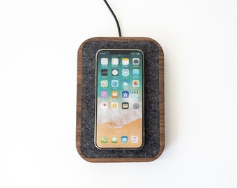 Wireless Charging Docking Station - iPhone Apple Watch Apple AirPods - Minimalist Options for iPhone, Apple Watch, AirPods, MagSafe Charger