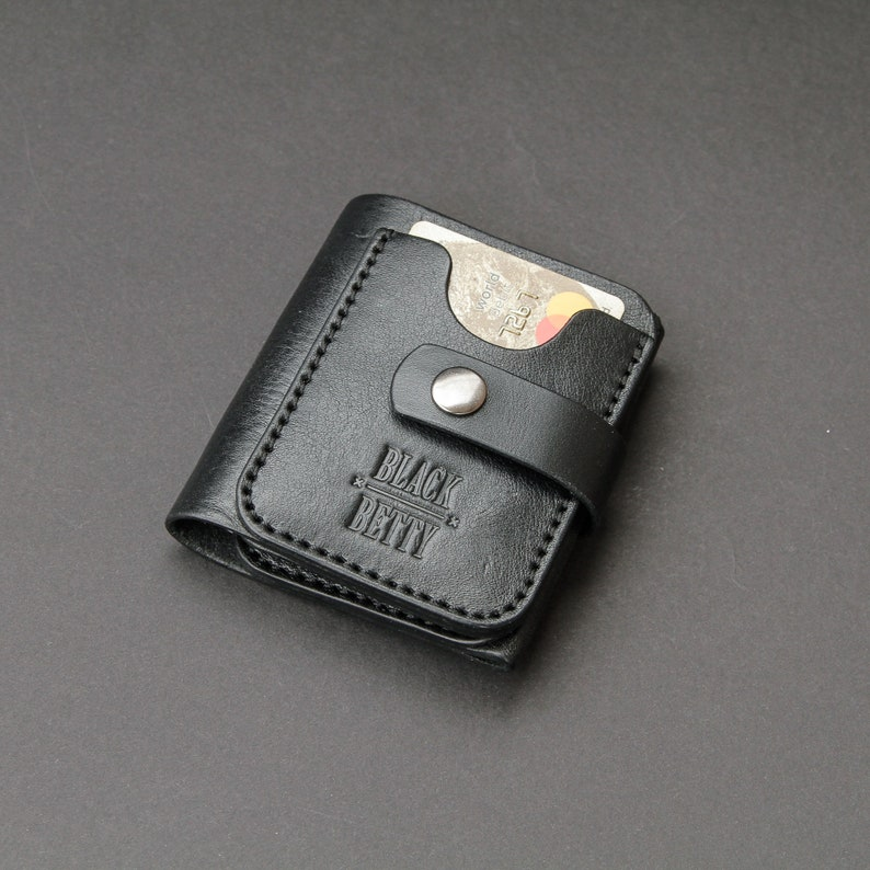 1850115edcfb5 Mens Wallet Leather purse Best minimalist wallet Credit