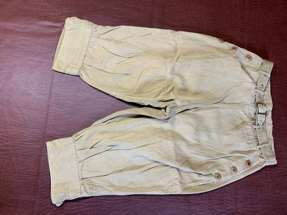 Antique Kenworth Knickers - 1920s - Khaki Knickers