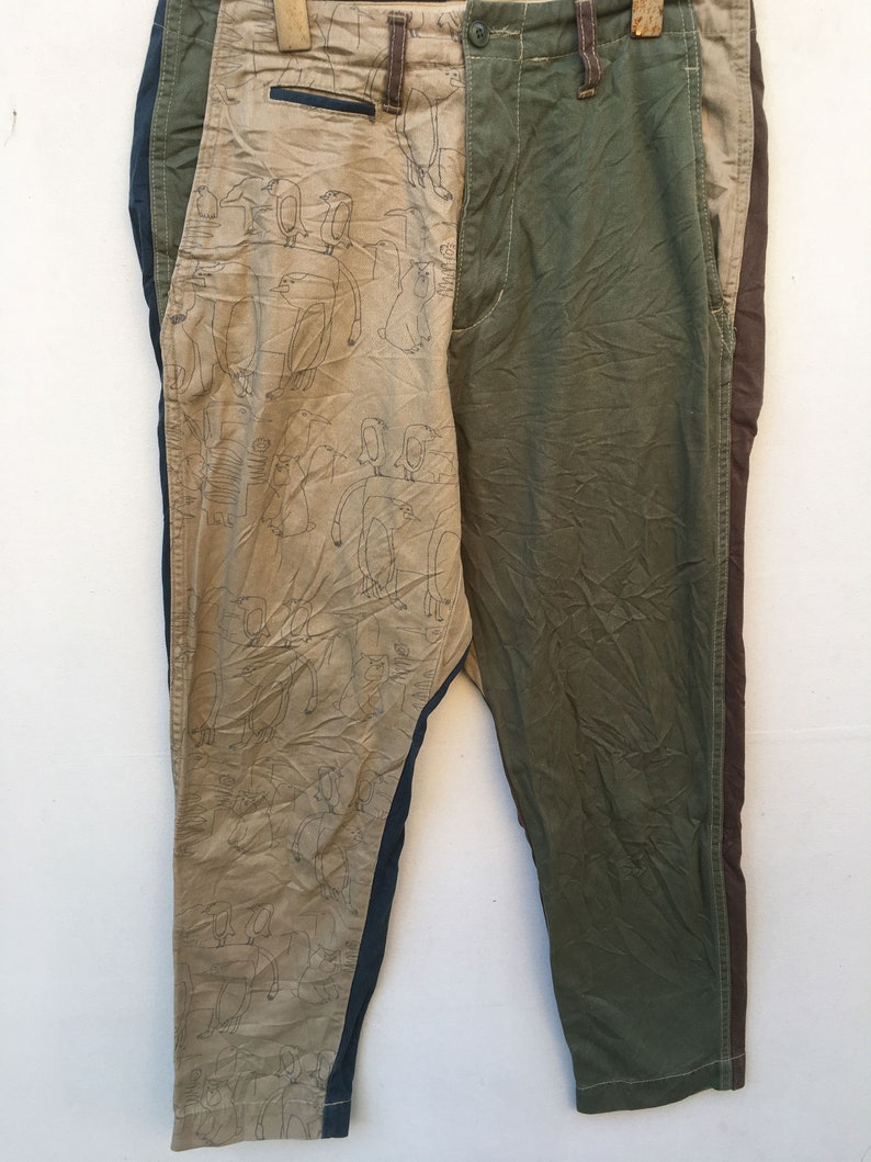 Net-Net Issey Miyake Crotch Pant Patches Trouser