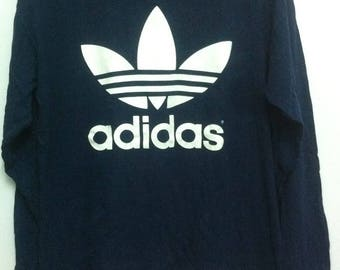 90s Adidas Long Sleeve Small Made in Usa