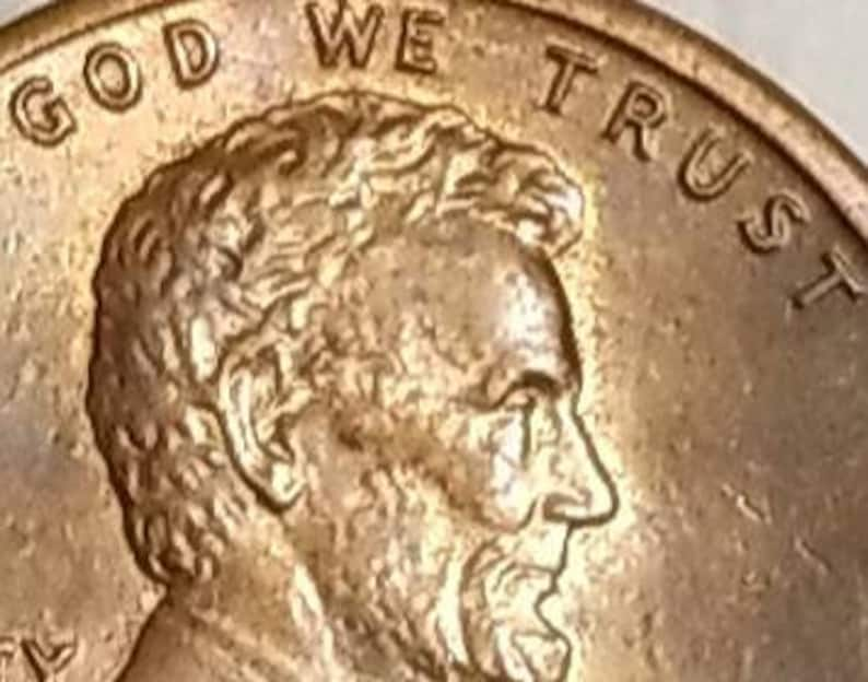 1984 D MS DDO Lincoln Cent - 1C Penny - Completely Double Struck Obverse  Die - Ear, Liberty, Motto, Date    - Error Coin, Numismatic Coins