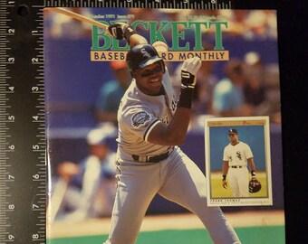 Beckett Baseball Monthly Issue # 79 October 1991 Frank Thomas Sports