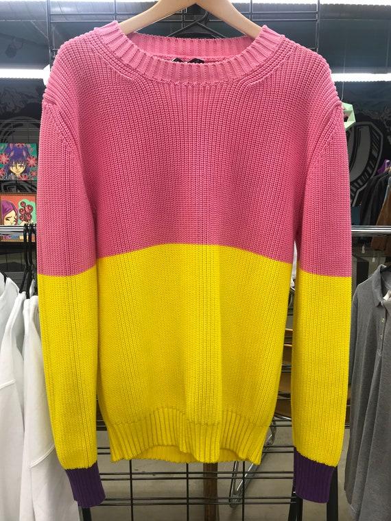 """JW Anderson """"Bubblegum"""" Tri-Colored Sweater"""