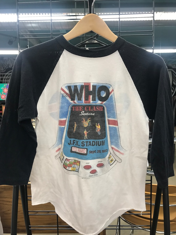 The Who | The Clash | 1982 Vintage T-shirt