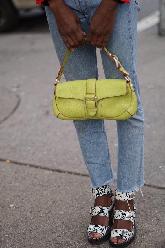 Vintage Lime Green Michael Kors Bag