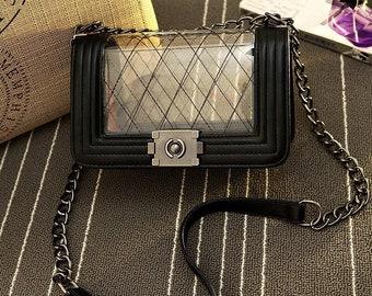 f15c506645bf Clear shoulder bag