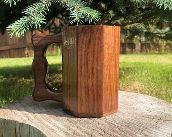 Renaissance Wood Mug Etsy