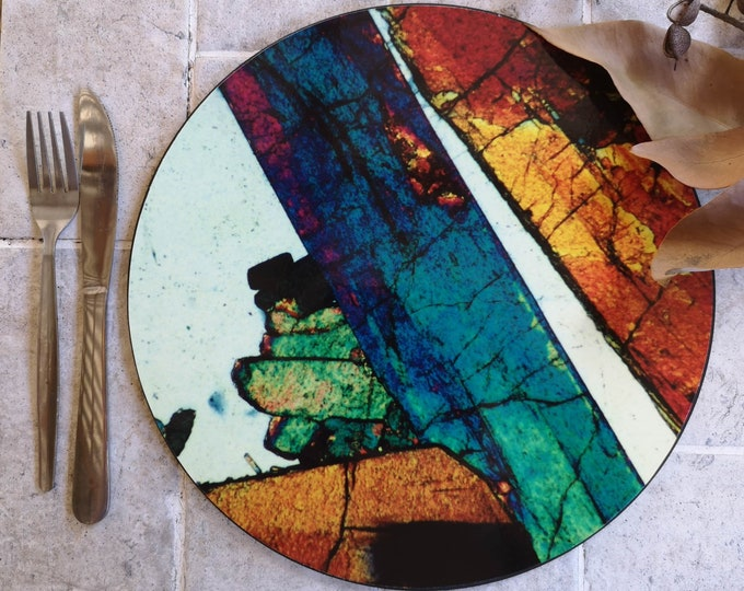 Mineral Photo Placemats - Thin Section Art