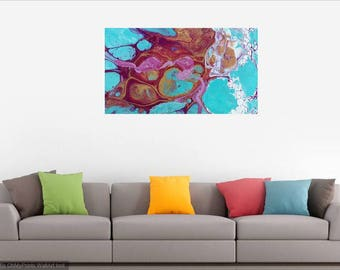 Digital Prints on Canvas and Fine Art Paper of an original Acrylic Painting, priced from....