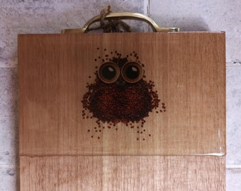 Owl Hardwood serving board
