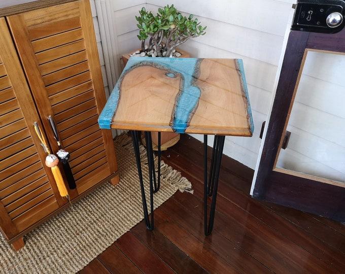 Resin coffee table - Jacaranda