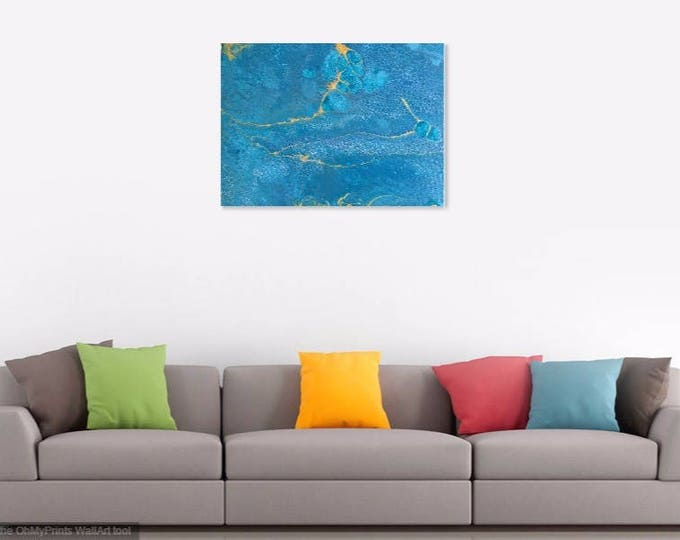 Acrylic and Resin Art - Digital prints on canvas and fine art paper, priced from
