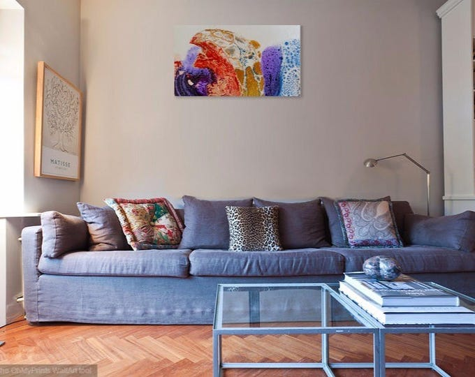 Digital Prints on Canvas and Fine Art Paper of an original Acrylic Fluid Painting, priced from.....