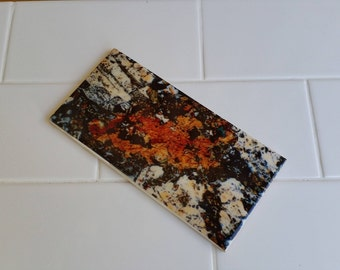 Mineral Photography Custom Feature Tiles - Feldspar - Thin Section Photography - Australian Minerals - Art and Science - Splashback Tiles