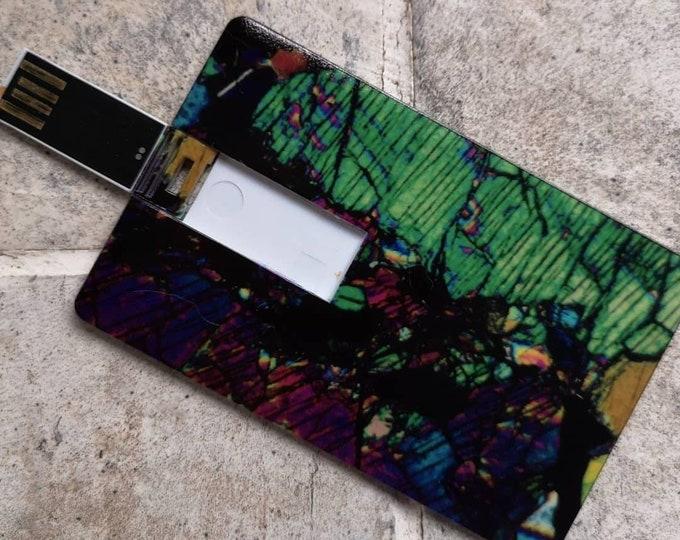 USB drive mineral art