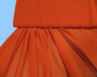 Viscose - CHIFFON orange (491252)