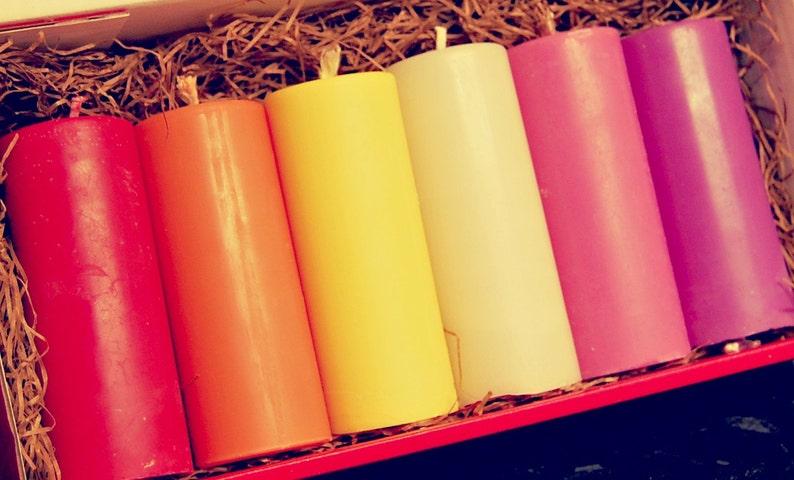 Pick a colour  Individual wax play candles image 0