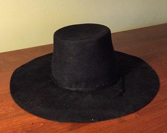 134aaef17d6 Pilgrim 17th Century Fur Felt Hat