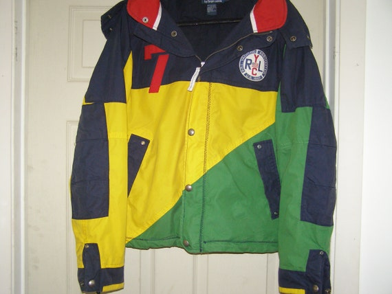Vintage POLO Ralph Lauren P.R.L Yachting Jacket Si