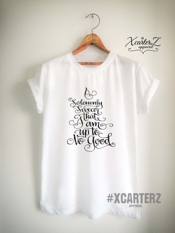 """Kids 3//4 Sleeves /""""I Solemnly Swear I Am Up to No Good/"""" Toddler /& Youth Tee"""