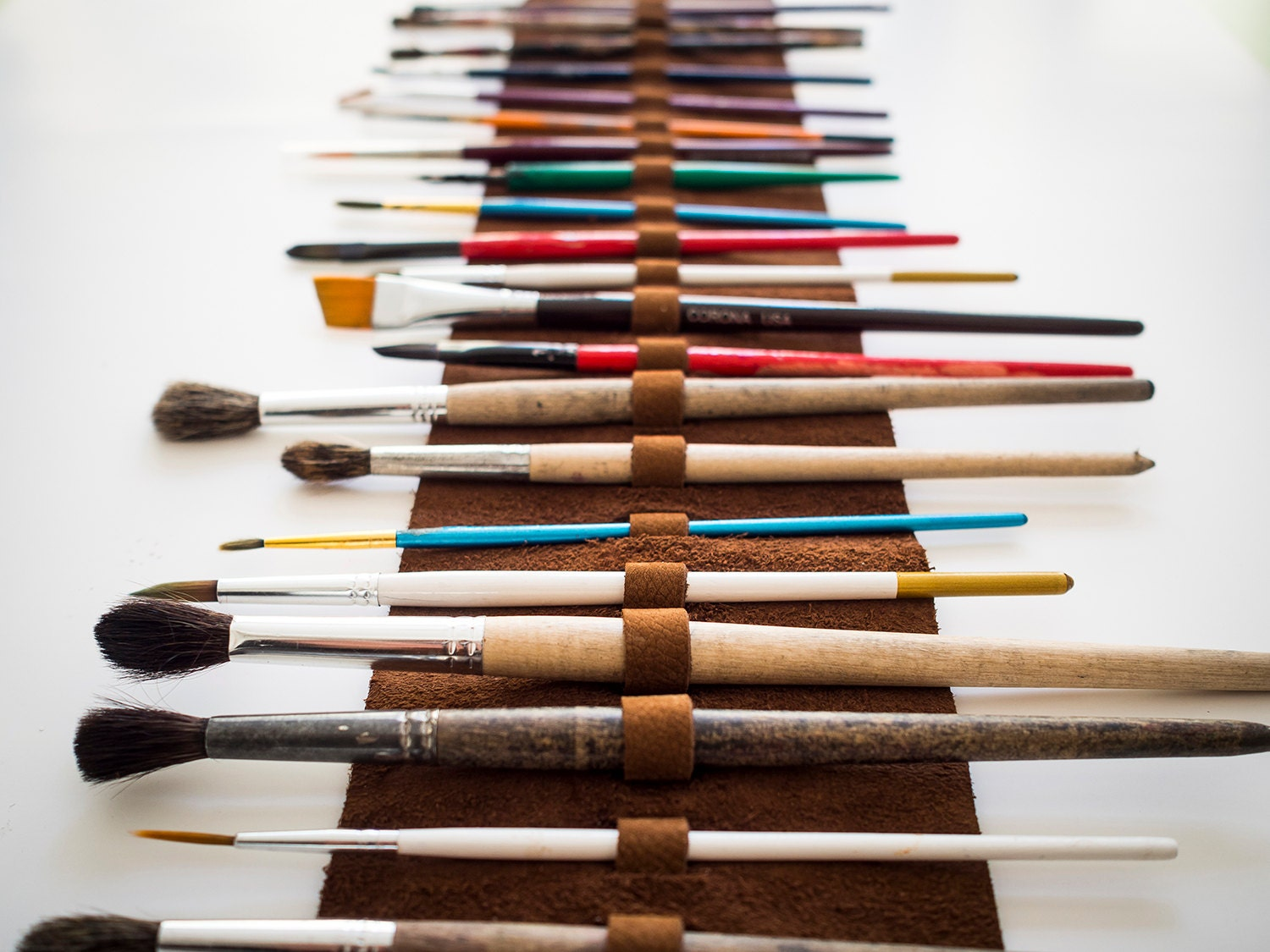Best paint brushes for leather