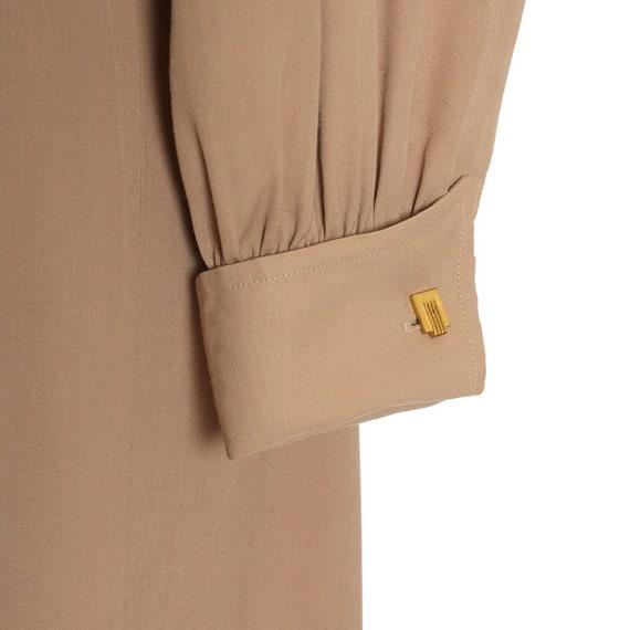 1940s Utility Shirtwaist Dress - image 7
