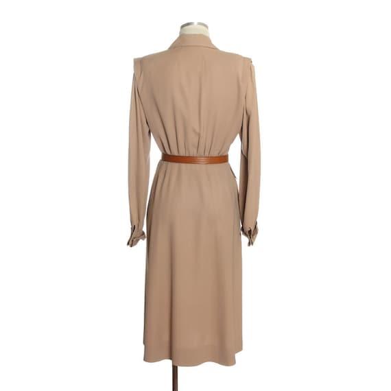 1940s Utility Shirtwaist Dress - image 3