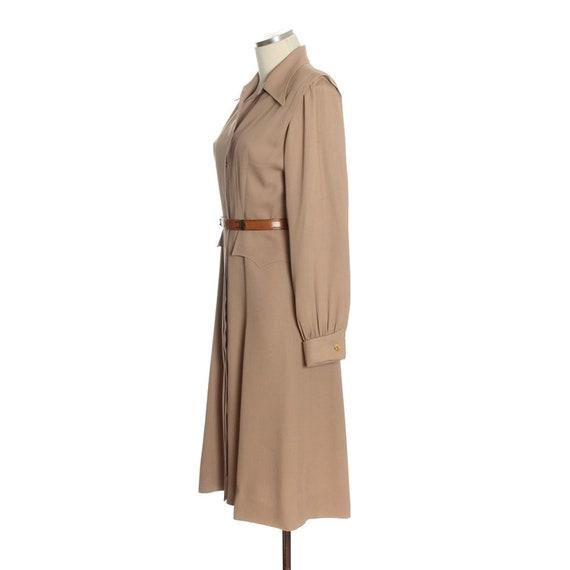 1940s Utility Shirtwaist Dress - image 4