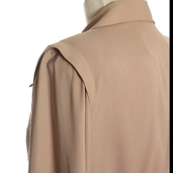 1940s Utility Shirtwaist Dress - image 8