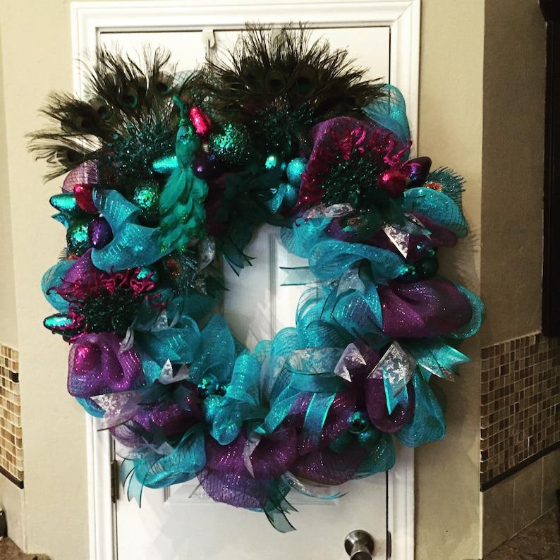 Peacock Christmas Decadence image 0