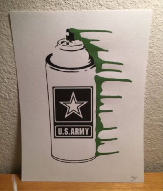 Graffiti Pop Art US Army gifts, Army logo, US army flag decor, gifts for  men, US army family, army home decor, army officer, gift for dad,
