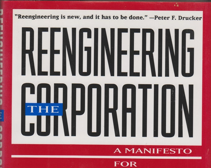 Reengineering the Corporation: A Manifesto for Business Revolution (Hardcover, Business) 1993