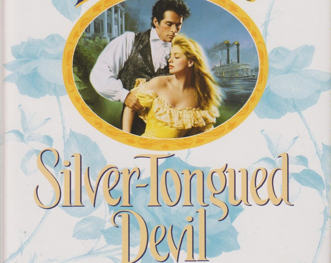 Silver-Tongued Devil by Jennifer Blake (Hardcover: Romance)  1996