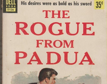 The Rogue from Padua by Jay Williams (Pulp Fiction Paperback: Historical Drama, Historical Romance) 1952