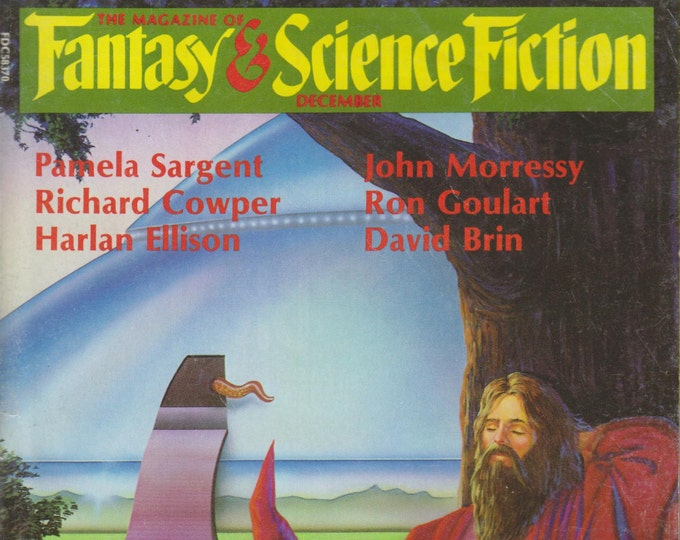 Fantasy & Science Fiction December 1986 Spirits From the Vasty Deep Cover