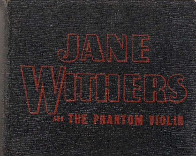Jane Withers and the Phantom Violin (Hardcover: Vintage Whitman, Vintage Children's Series) 1943
