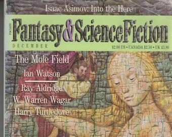 Fantasy & Science Fiction  December 1988