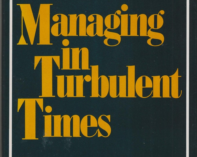 Managing in Turbulent Times (Hardcover, Business)